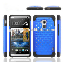 High garde mobile phone case for HTC one max T6 shockproof case,diamond supply co case and phone cover for htc one