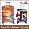 Abs pc Hardside Spinner Luggage Set with Printing