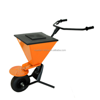 Fertilizer Spreader, plastic tray and Pb-free and UV resistance powder coating