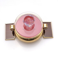 BDS-67 360 Rotating Jewelry Watch Solar Display Stand