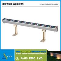 YJX-0053 IP65 6W 9W 12W 18W 24W 36W waterproof outdoor wireless DMX LED wall washer light