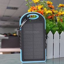 The Hottest Products Portable 5000mAh Solar Charger for iphone ipad