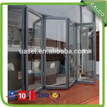 Puerta plegable de plástico--- para interiores decoración de la habitación