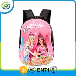 Children backpack princess design for school kids