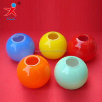 COLORED GLASS BALL LAMP SHADES/SMALL COLOR GLASS LAMP