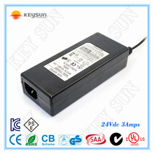 ac to dc adapter 24v 3a desk nature use input 110v