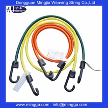 Top grade bright color high elastic rope with hook