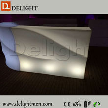 Promotion remote control illuminated portable mobile commercial bar counters design for outdoor events