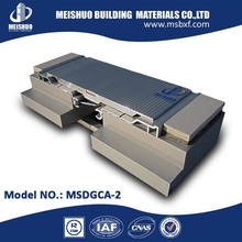 Heavy duty metallic expansion joints in building materials