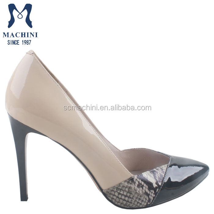 Creative Womens Trendy 39Jeen39 High Heel Court Shoes
