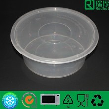 Disposable biodegradable food container eco-friendly recyclable disposable take out container 2500ml