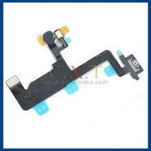 """Replacement Repair Parts Power / Lock Button Flex Cable w/ Flash Light for IPHONE 6 4.7"""" - Black"""