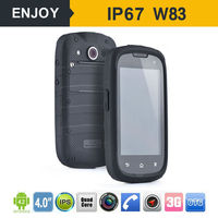 4 inch waterproof shockproof dustproof cell phone ,smart phone IP67 mobile phone waterproof