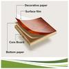 clear Colour and lustre paulownia lamination board