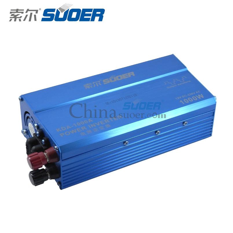 suoer xe điện biến tần 1000w xe biến tần 12v dc 220v ac xe điện biến tần