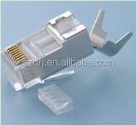 CAT7 RJ45 Connector 8P8C Shielded RJ45 Plug