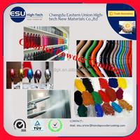 Golden supplier spray Electrical Applicance aluminium windows powder coating spray powder coated pigments