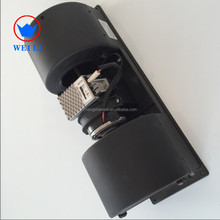 Hot sale ZHF292Z 405mm 24v/12v bus air conditioning brushed double evaporator blower