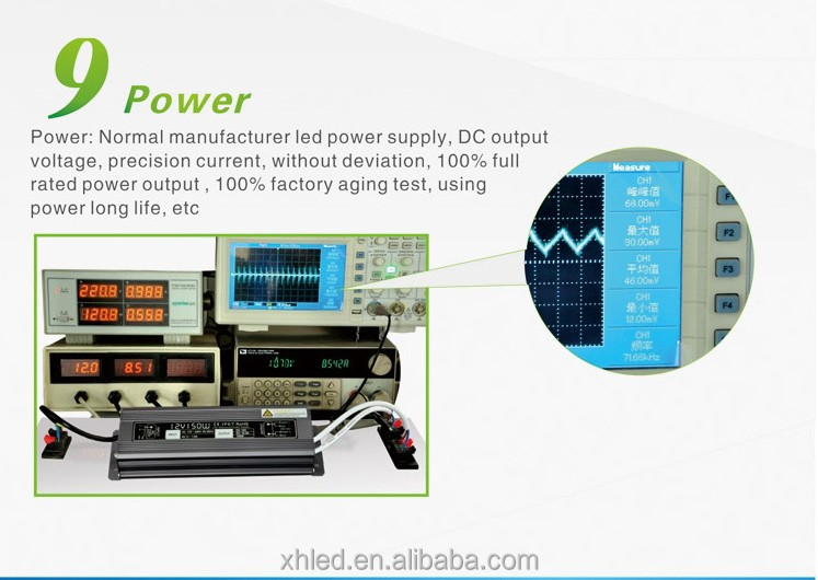 Output DC12VConstant VoltageWarranty 2 years 80w led power supply