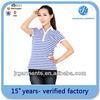 2014 Dri Fit Pique New Design Polo Shirt Wholesale For Women