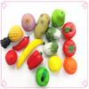 fruit pu ball yellow Pineapple Stress ball cheap stress balls