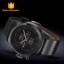 Wholesale Luxury Watch Brand Leather Men Watches Guangzhou, Accept Paypal Fashion Watch
