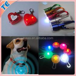 Pendant led pet light safe product with colorful shape