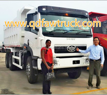 hot sale for African friends FAW dump truck 6x4