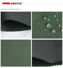 Ambiental 3 capas PTFE membrana revestida ligero a prueba de agua tela de nylon, como goretex