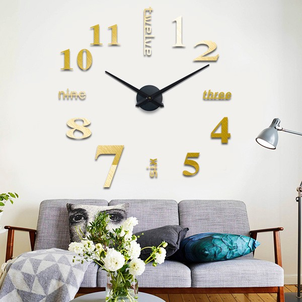Acrylice Cheap Wall Clock Without Frame Big Size Wall Clock For Kid ...