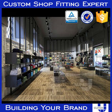 supply 2015 TOP quality Men's Clothing Shop Interior Design