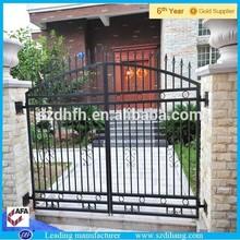 Decorativos baratos valla de hierro forjado diseños/correos y ferrocarril cerca/de metal cerca de las puertas