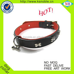 Dog collar fashion pet product cheap adjusted leather bulk dog collar