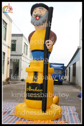 China manufacturer directly sell ! inflatable old man , infaltable geezer , giant inflatable man for sale