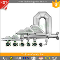 Professional Manufacturer High Pressure High Temperature Oil Water Air V-Cone flowmeter/Fuel Liquids Gases flowmeter/flow meter