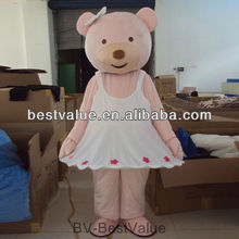 lovely design bear mascot carnival costume bear cartoon mascot costumes advertising fur costume