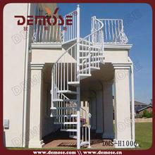 Préfabriquée métal extérieur escaliers de la chine