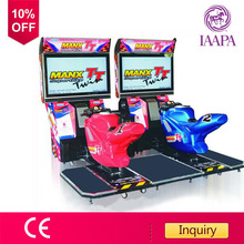Discount! 42 inch TT Motor arcade game machine motorcycle