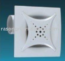 Plástico de alta calidad de techo de ventilación del ventilador ( srl12x/24x )