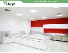 Customized lab furniture/chemical resistant board lab countertop