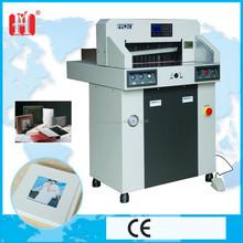 Very high pressure hydraulic guillotine paper cutter
