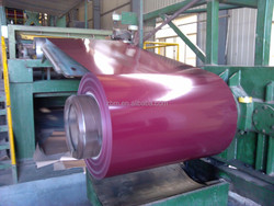color coated steel sheet coil roll plate ppgi/red/blue/green