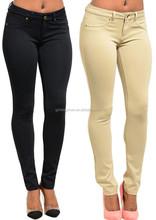 2015 OEM Hot Women's Casual Stretch Skinny Leggings Pencil Pants Trousers Slim Fit