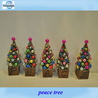 Decorative feather Christmas Tree for Home and Holiday Decorating
