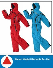 2015 Nylon Fabric Custom high performance outdoor snowboard mens ski suits one piece/ ski suits in north american