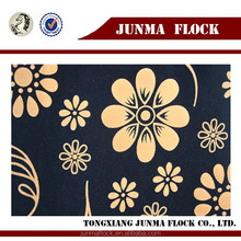 Flocking jacquard chenille fabrics for sofa furnishing with coating