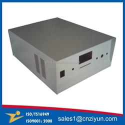 Custom aluminum box for metal box fabrication