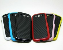Cheapest tpu+pc bumper case cover for samsung galaxy s 3 wholesale