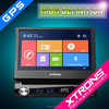 "Hot-selling!! D712SG-7"" Car GPS HD Digital Touch Screen Detachable Panel Car DVD"