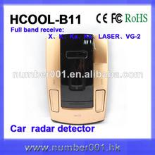 Receptor de radar de 360 grados de alerta temprana